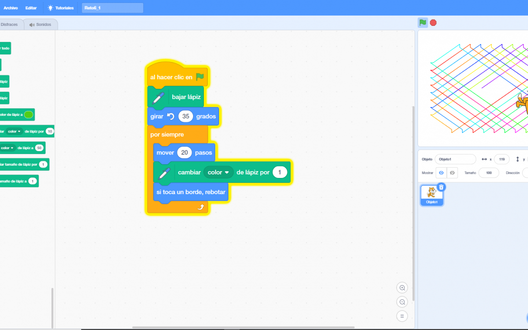 Primeros pasos con Scratch