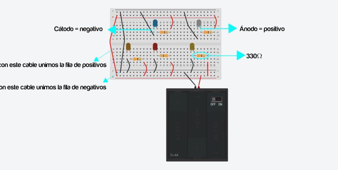 Sesión de prototipado electronico con Tinkercad Circuits
