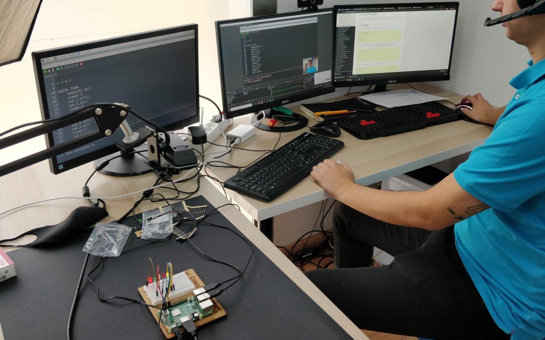 Primeros pasos con Python librería Gpiozero