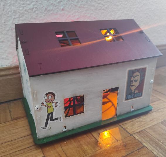 Proyecto de casa robótica