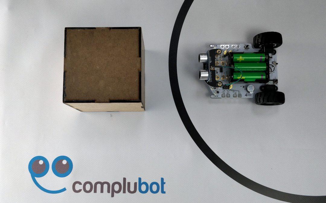 Medida de distancias con el robot CrumbleBot