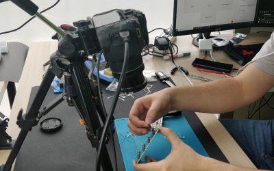 El (pequeño) tamaño de los componentes en electrónica