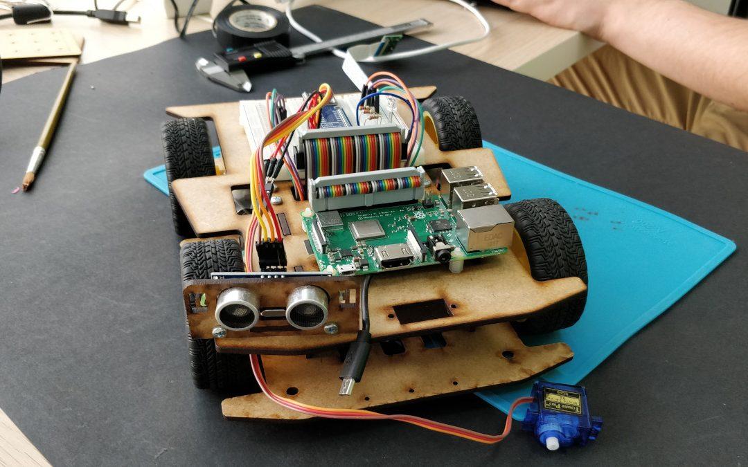Robot 4WD para Raspberry Pi
