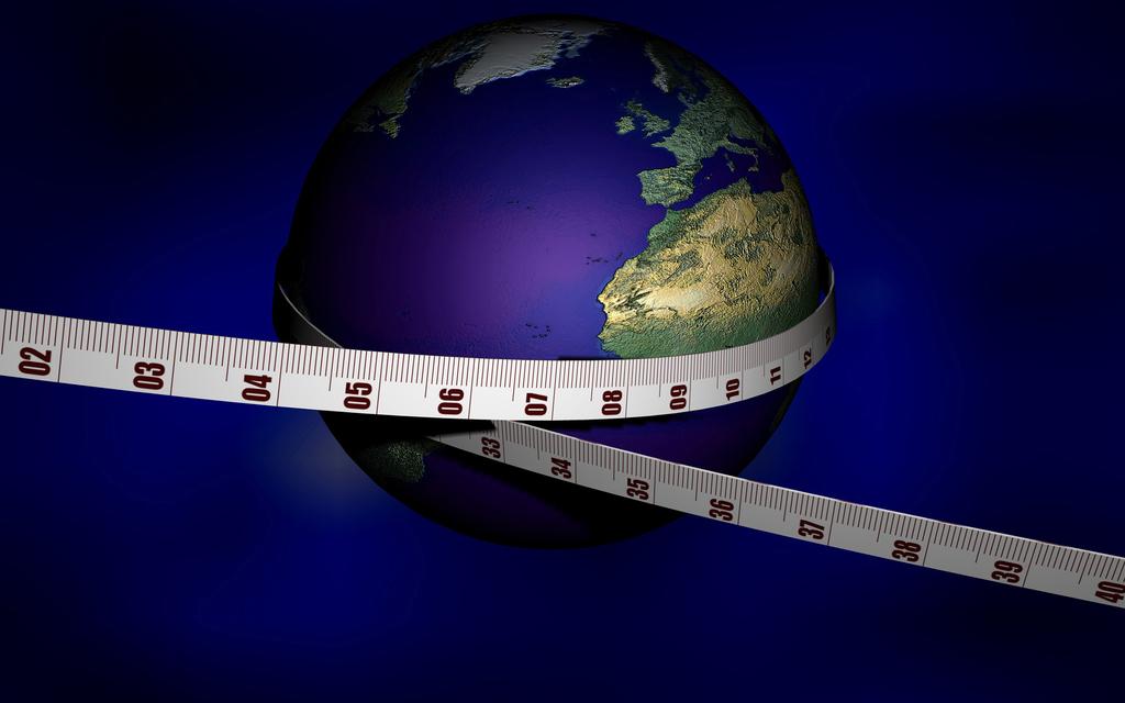 Medir la Tierra sin salir de casa