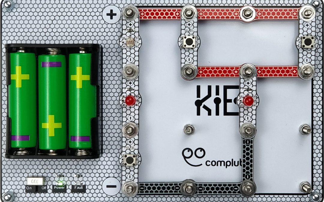 KIE – El nuevo Kit de Iniciación a la Electrónica de Complubot